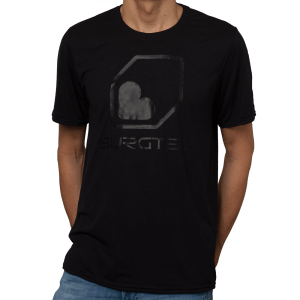 BURGTEC BLACK ON BLACK TECH T-SHIRT