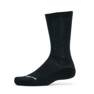 Swiftwick Pursuit Merino Seven Black Sock