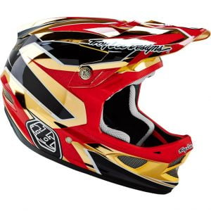 Troy Lee Designs D3 Composite 2016 Reflex Gold Chrome