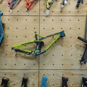 Devinci Spartan Carbon 2019 - Frame Only - Gloss green (Melb Stock)