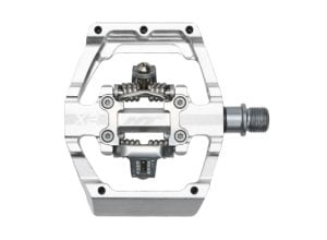 HT X2 DH Race Pedals Silver